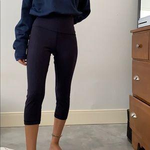Navy align lululemon leggings